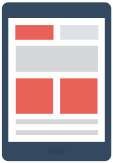 Site web responsive Tablettes Mediatros